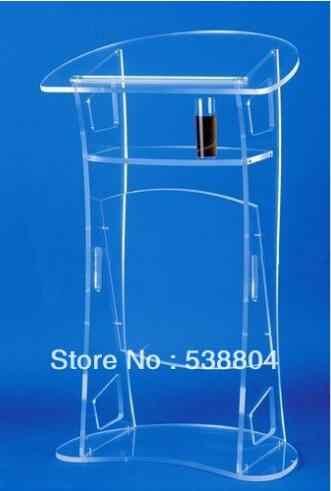 Freies Verschiffen acryl desktop rednerpult billig acryl rednerpult Freies verschiffen plexiglas schule podium plexiglas kanzel klar rednerpult