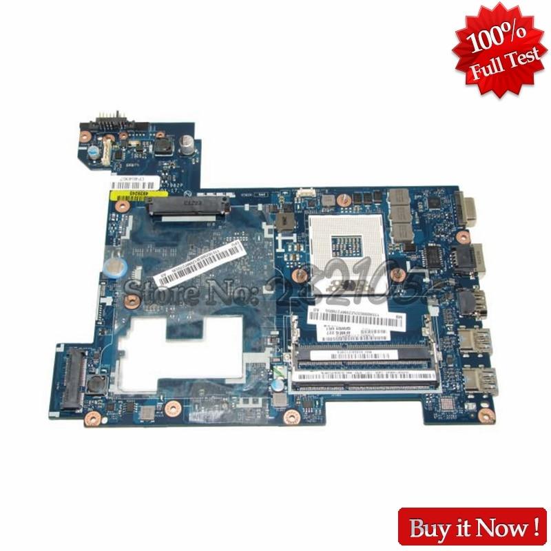 NOKOTION Main Board For Lenovo G580 P580 P585l LA-7982P Laptop Motherboard HM76 GMA HD DDR3 815248 501 main board for hp 15 ac 15 ac505tu sr29h laptop motherboard abq52 la c811p uma celeron n3050 cpu 1 6 ghz ddr3