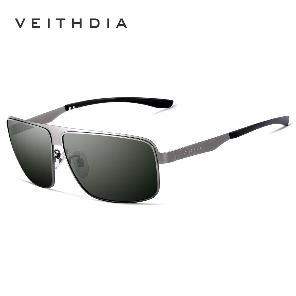 0b549227c3 VEITHDIA 2017 Brand Fashion UV400 Square Stainless Steel Alloy Frame HD Polarized  Sunglasses Driving Glasses For Men 2492-in Sunglasses from Apparel ...