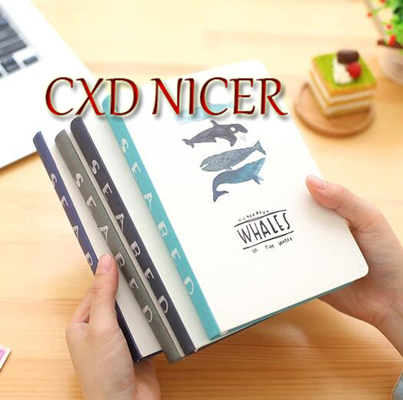 Korean Creative Stationery Cute Thick Notebook Planner Diary Book Exercise Notepad DD1370 factory direct office supplies stationery 25 20 notebook korean creative diary custom thick notepad 1 pcs