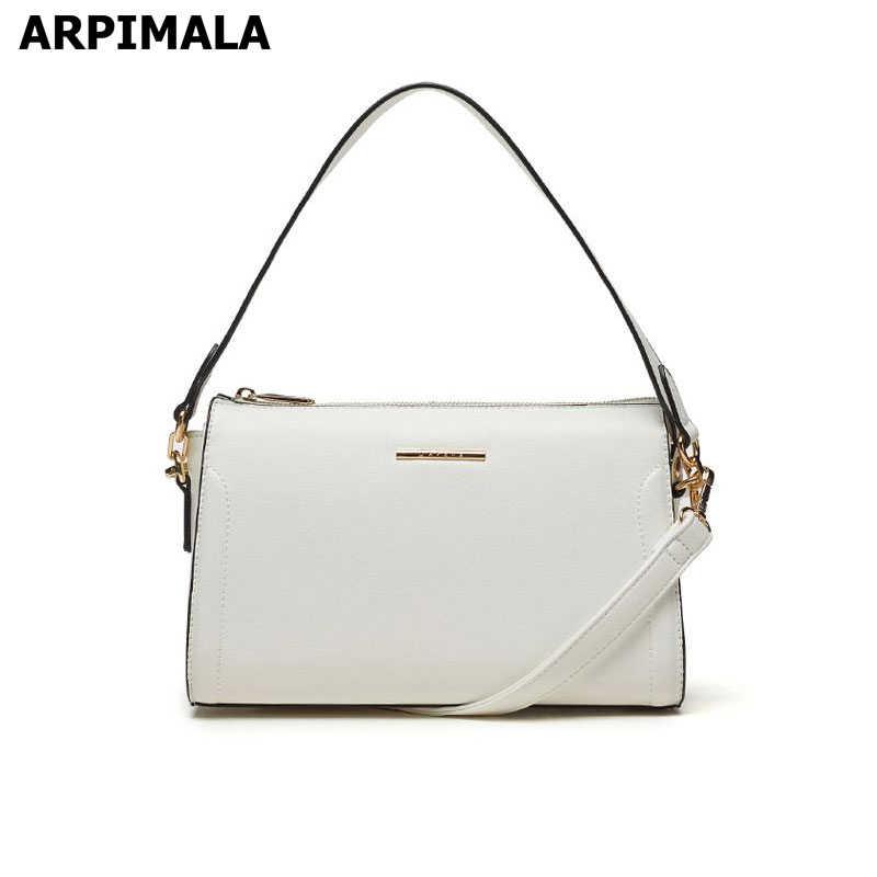 be7065a535ee Подробнее Обратная связь Вопросы о ARPIMALA повседневная женская сумка для  мамы кожаная сумка на одно плечо белая сумка мессенджер маленькая сумка  через ...