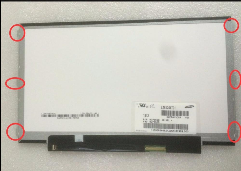 LTN125AT01 401 12 5 for Thinkpad x230 x230i Matirx screen 40Pin 1366x768 LED Display Matte Antiglare