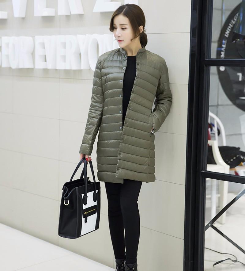 Ultra Portable Overcoat Woman 8