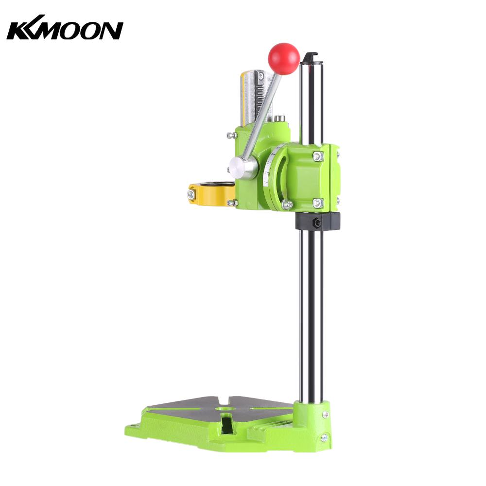 цена на Drill Workbench Electric Drill Press Stand Table Rotary Tool Workstation Repair Clamp Work Station 90 Degree Rotating Fixed Fram