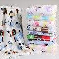 2016 Novo Cobertor Do Bebê 79*99 centímetros Crianças Cobertor de Lã Quente na Cama Macia animais manta bebe cobertor Xadrez Cobertor Do Lance bebe