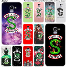 Riverdale South Side Ular Logo Silikon Case untuk Samsung Galaxy J8 J6 J4 2018 J2 Inti J5 J6 J7 Perdana j3 2016 2017 Uni Eropa J4 PLUS(China)
