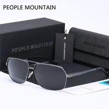 b62ab203b9 As pessoas de Montanha Populares óculos de Sol Da Marca Homem Esporte  Clássico Óculos de Sol Da Moda Óculos de Condução Legal Oc..