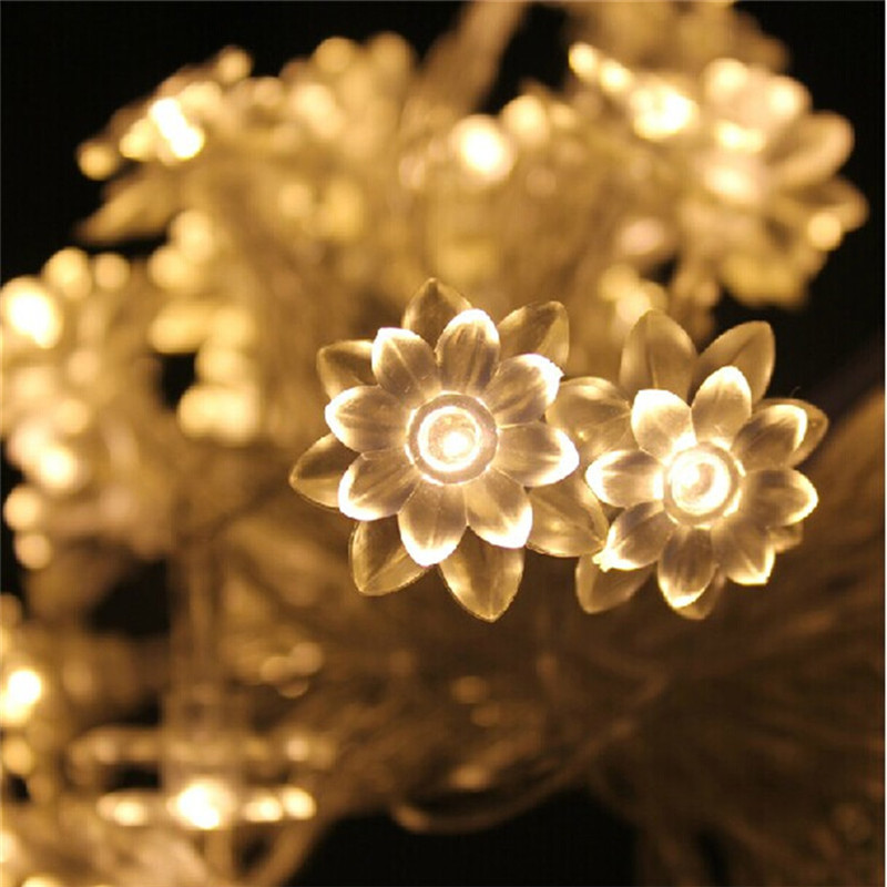 Battery operated led string light 5M 50led ball/star/batterfly shape led light outdoor d ...