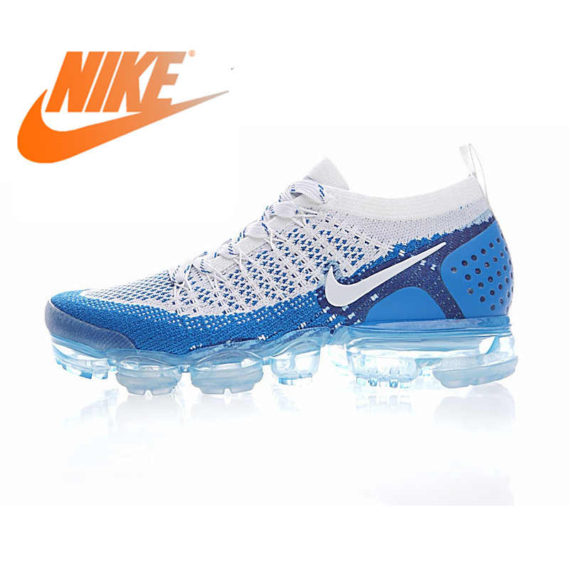 0a036994ff Original Authentic NIKE AIR VAPORMAX FLYKNIT 2 Mens Running Shoes Sneakers  Breathable Sport Outdoor Athletic Good