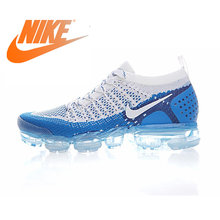 Original Authentic NIKE AIR VAPORMAX FLYKNIT 2 Mens Running Shoes Sneakers Breathable Sport Outdoor Athletic Good Quality 942842(China)