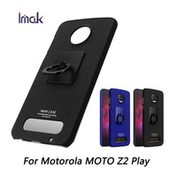 For Motorola Moto Z2 Play Case Imak 360 Degree Rotated Ring Buckle PC Hard Case Phone