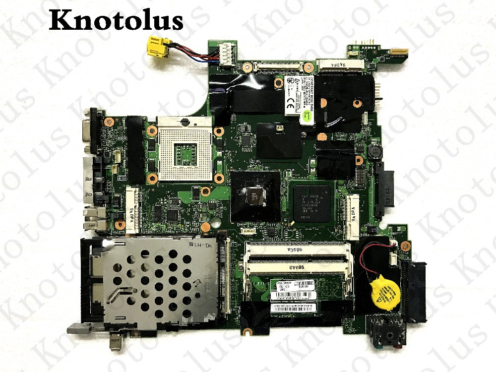 цена 42w8125 60y3747 laptop motherboard for lenovo ibm thinkpad t400 r400 gm45 laptop motherboard ddr3 Free Shipping 100% test ok
