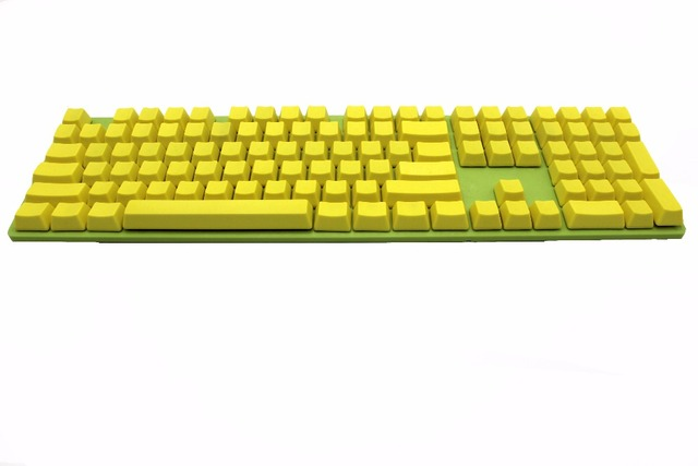 Blank 108 ANSI ISO layout NPKC Thick PBT Keycap For OEM Cherry MX Switches Mechanical Gaming Keyboard