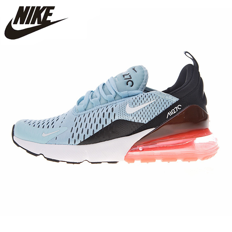 f60141bb53 Nike Air Max 270 Women\'s Running Shoes Light Blue & Red Shock-Absorbing  Breathable Lightweight Non-Slip AH6789 400