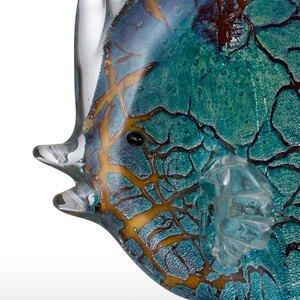 Image 3 - Tooarts Colorful Spotted Tropical Fish Glass Sculpture Fish Sculpture Modern Art Favor Gift Artwork Home Decoration