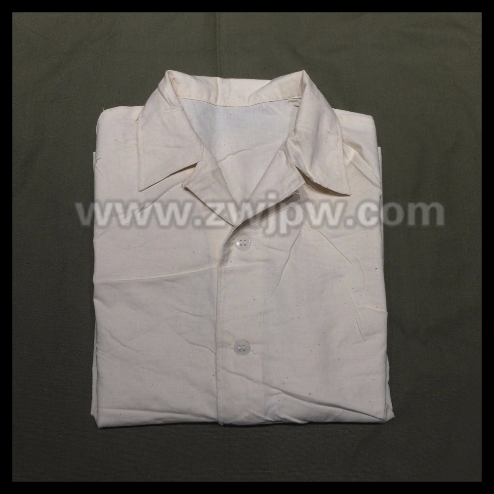 CHINESE WOMEN 65 PURE COTTON WHIT SHIRT  ORIGIANL