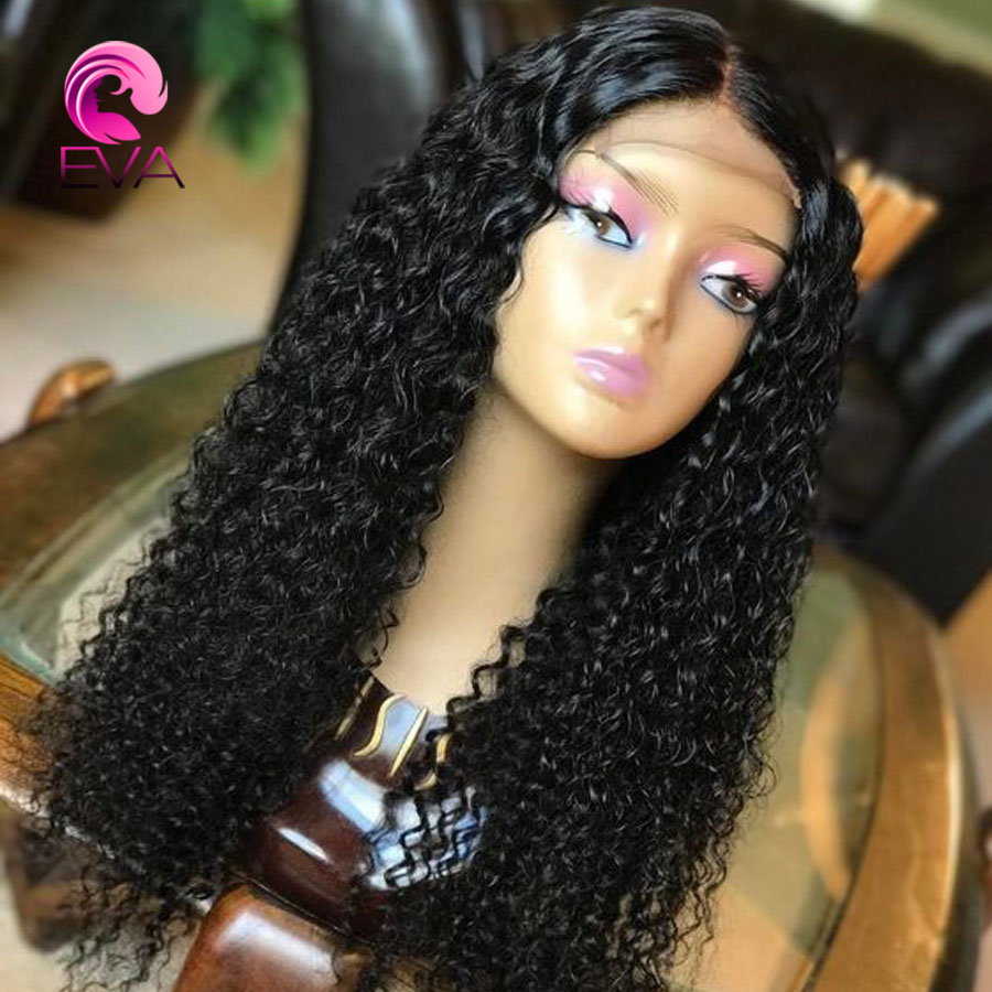 Eva Hair Lace Front Human Hair Wigs Pre Plucked With Baby Hair 130 Density Brazilian Remy Hair Lace Front Wigs For Black Women