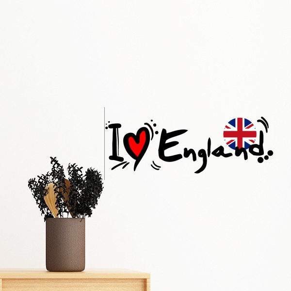 Us 1666 I Love London Bus Big Ben Uk England Britain Removable Wall Sticker Art Decals Mural Diy Windows Plane Wallpaper Room Decal 60cm In Wall