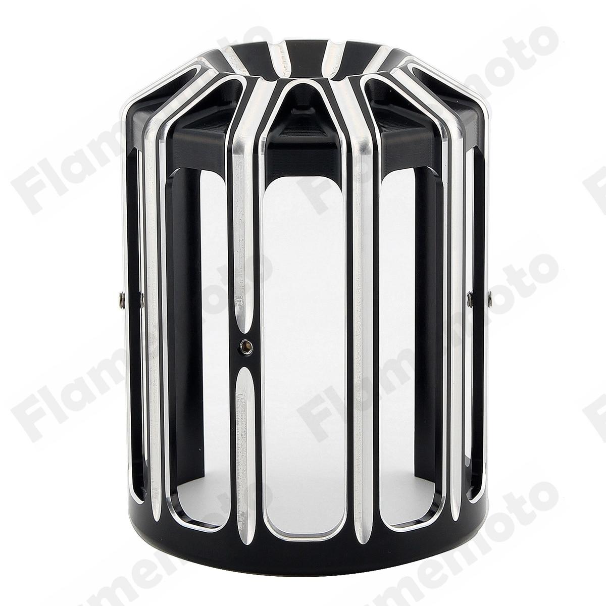 Мотоцикл черный CNC алюминия 10-Датчик Крышка масляного фильтра для Harley FXSB жирный туринг Софтейла dyna с двумя верхними распредвалами модели не определено