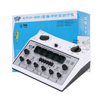 Electric Acupuncture Stimulator 6 Channels Output Patch KWD808 I Electronic Stimulation Relaxation Massager Care