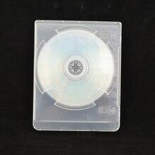 Alta qualidade CD-ROM Housing case Protetor Shell Transparente Branco espessura de disco óptico para PS3 para Playstation 3