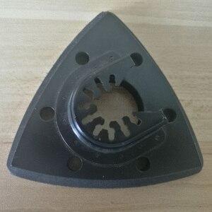 Image 2 - 93mm Flush สามเหลี่ยม Sanding Pad ใบเลื่อยใบมีดสำหรับ Fein Bosch Makita