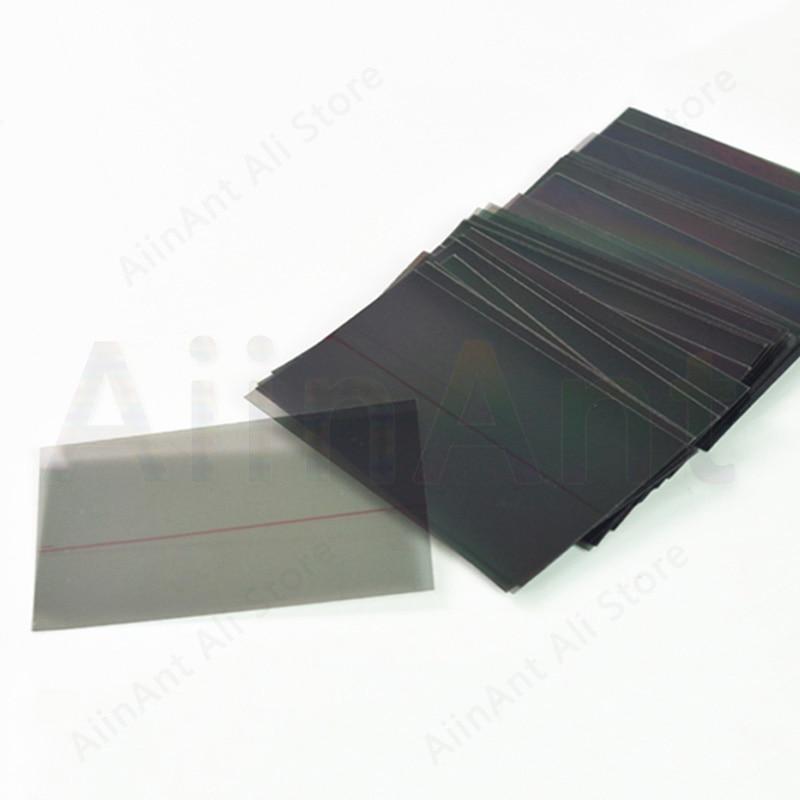 Original Polarisator Film Polarisierte Aufkleber Für iPhone X Xs Max Xr LCD Screen Display Für iPhone 5 5s 7 8 6 6s Plus X Ersatz