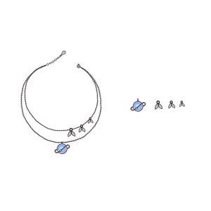 Image 5 - Thaya yaz gecesi rüyası tasarım kolye renkli inciler s925 gümüş gerdanlık kadınlar için zarif takı bayanlar hediye