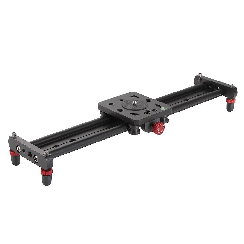 40cm Mini Aluminum Track Dolly Slider Rail Stabilizer System For Canon Nikon Sony DSLR Camera Video Film