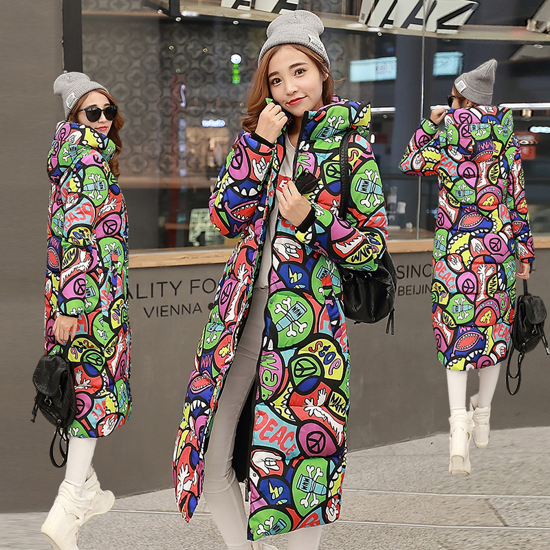 8 Colors High Quality Autumn Winter Design Women's Cotton Slim Zipper Coat Hooded Jackets Coats Overcoat Plus Size Down   Parkas