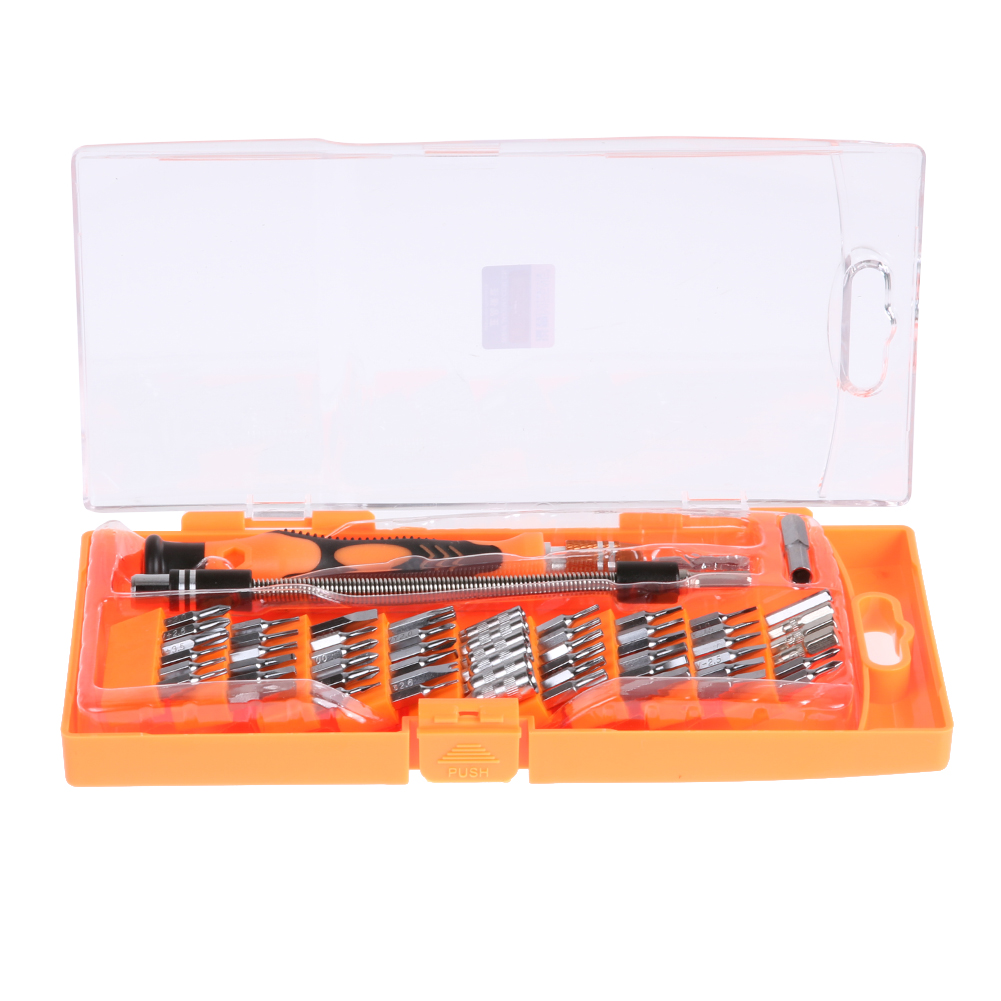 JAKEMY 58 in1 Repair Tool Set Multifunction Screwdriver Set Telecom Maintenance Disassemble Tool for Mobile Phone Computer
