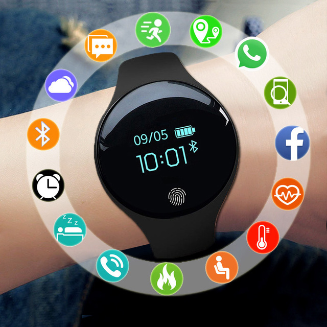 Color Touch Screen Smartwatch Motion Detection Men Women Smart Watch Sport Fitness Men Women Wearable Devices for IOS Android