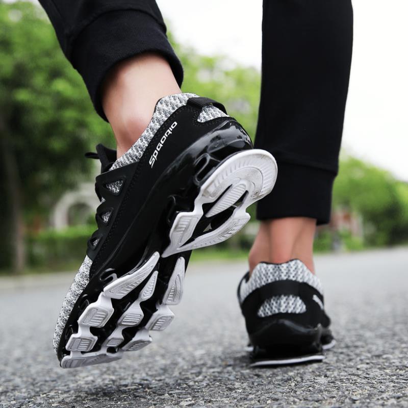 Respirant Léger Casual Plein Sneakers Espadrilles Hommes Top gris Sports Air Mesh Noir De Formateurs Chaussures Pour Zanvllchy rouge Qualité 6qSWFYxqt