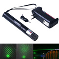 Green Laser High power 10000 laser 303 Lazer Laser Pointer presenter with safe key+battery+charger