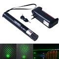 Laser verde de Alta potência 10000 303 Lazer Ponteiro Laser apresentador do laser com chave de segurança + bateria + carregador