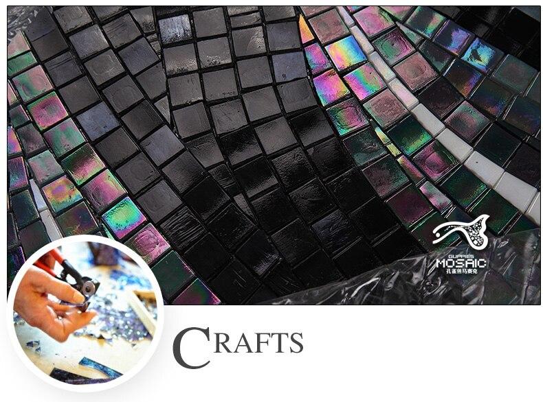 Flower Mosaic Tile Patterns Black And White Intended Design
