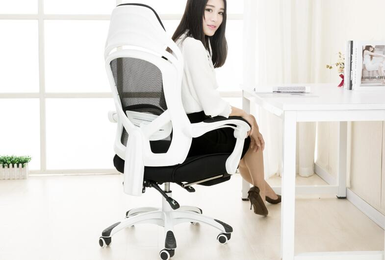 Купить с кэшбэком Net cloth computer chair. Can lie office chair