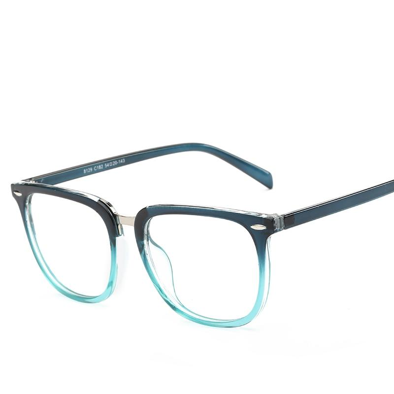 eyeglasses frame women men transparent lens nerd glasses plastic vintage myopia computer womens glasses frames eyewear