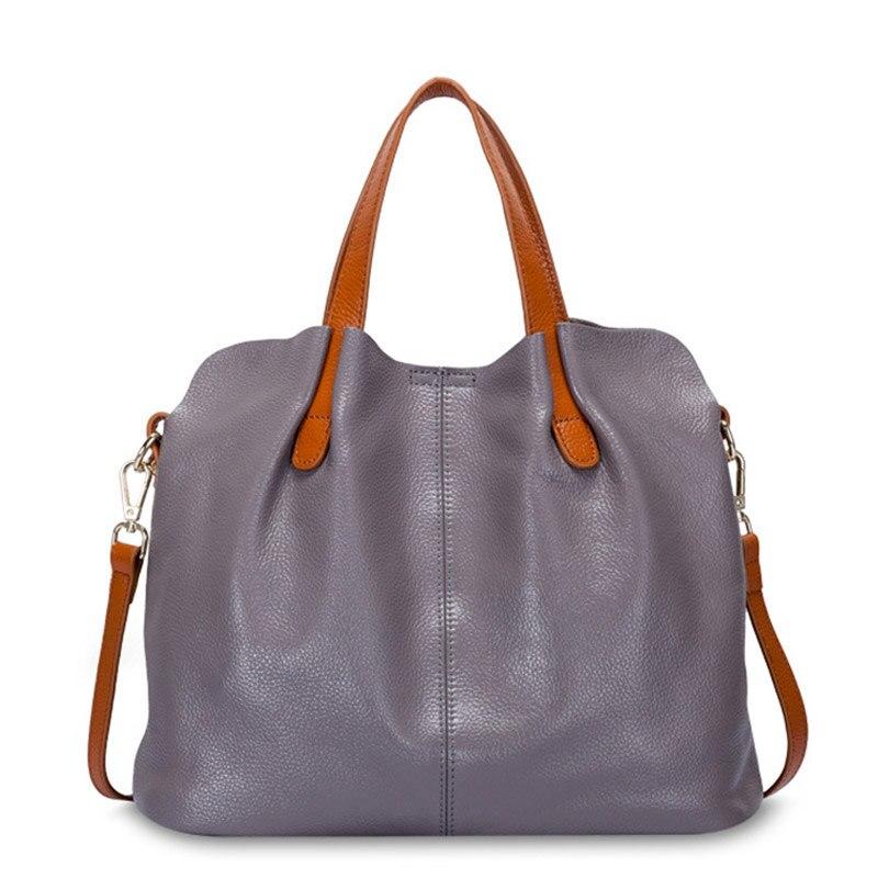 Genuine Leather bag for Women Bags Women s Handbag High Capacity Shoulder Lady s Messenger Bag