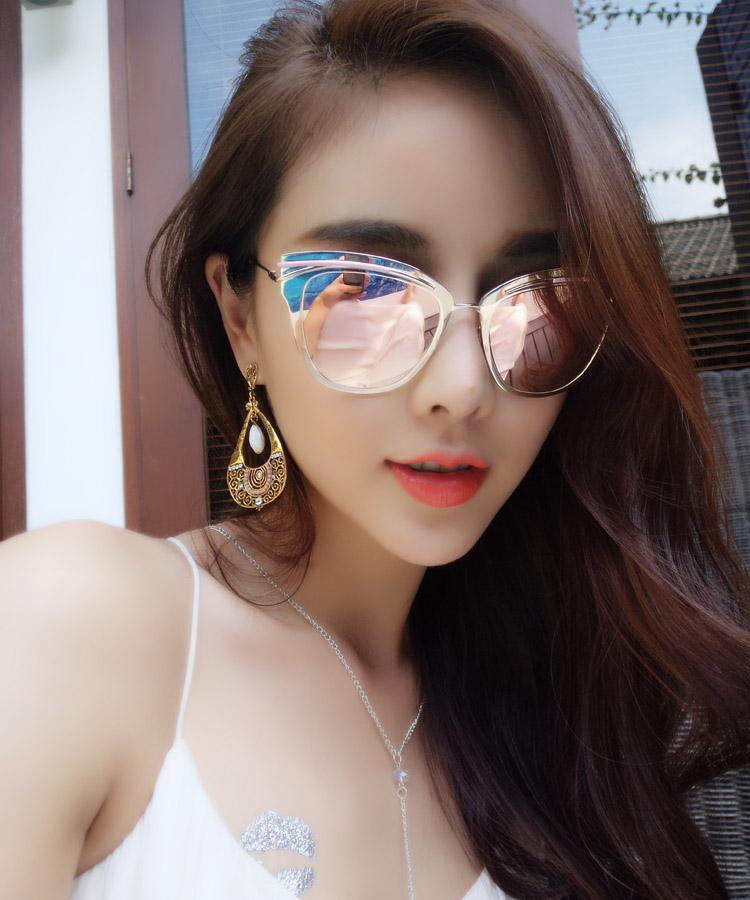 Cat Eye Designer Sunglasses  aliexpress com luxury alloy cat eye sunglasses stylish