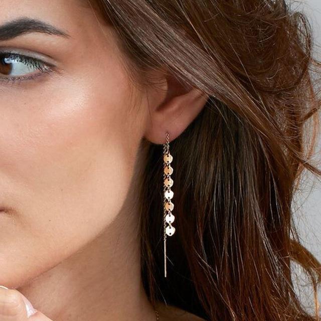 US $0.58 51% OFF|Kryształowy lotosu kolczyki sztyfty z kwiatem dla kobiet moda biżuteria dwustronne złoto srebro pozłacane kolczyki czeski popularne
