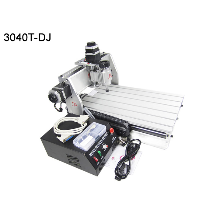 Great CNC cutting machine 3040 wood carving router t-dj mach3 control for woods, PVC, PMMA etc. cnc router wood milling machine cnc 3040z vfd800w 3axis usb for wood working with ball screw