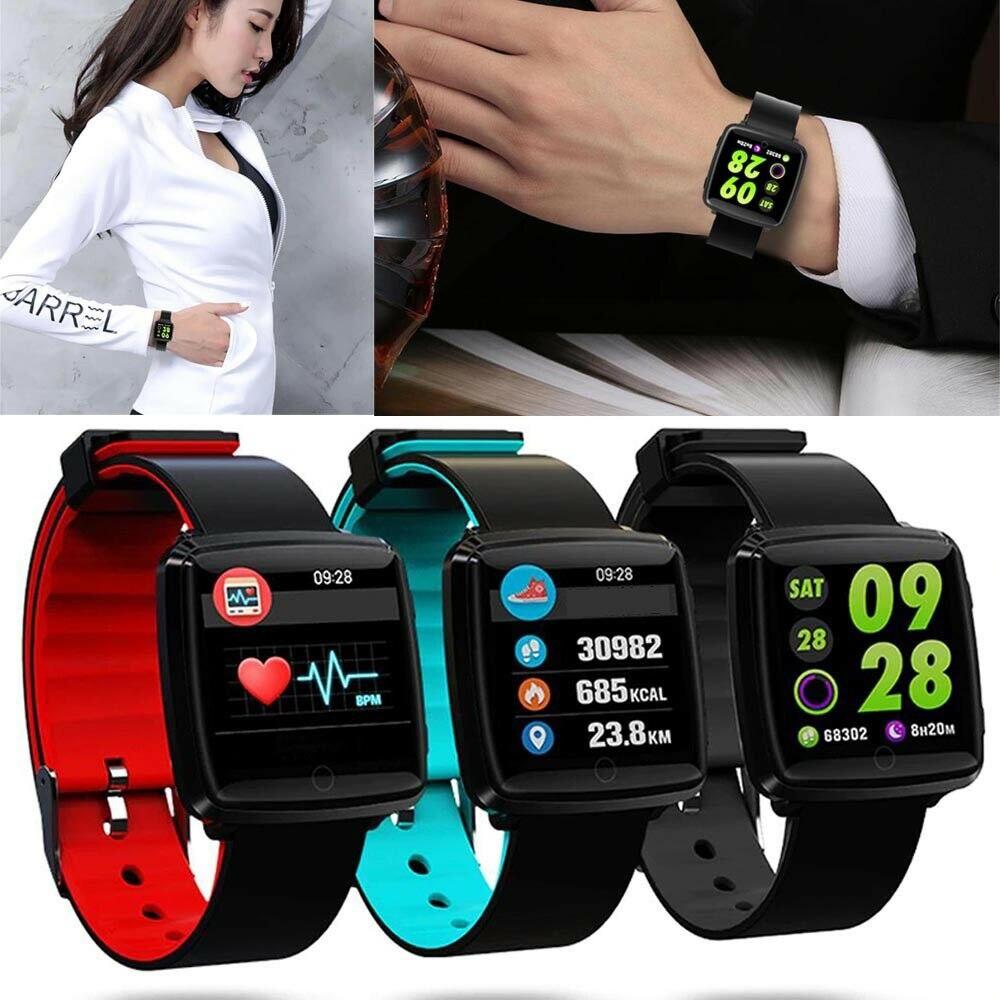 Écran tactile montre intelligente étanche Fitness Tracker moniteur de fréquence cardiaque pression artérielle femmes hommes horloge Smartwatch montre intelligente Q18
