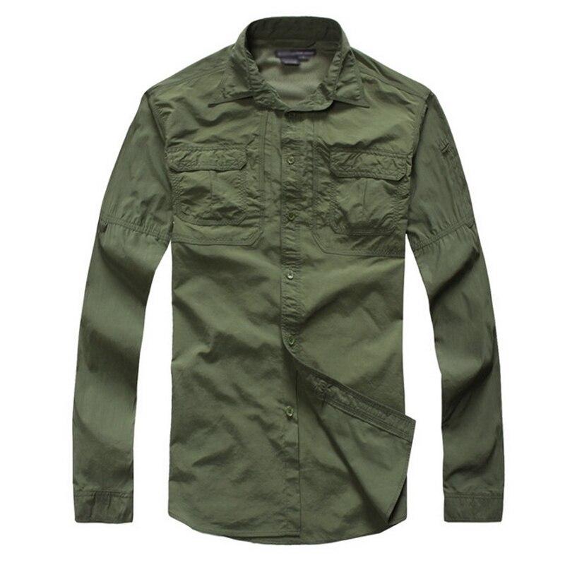Camisa masculina men quick dry fishing shirt breathable for Uv protection fishing shirts