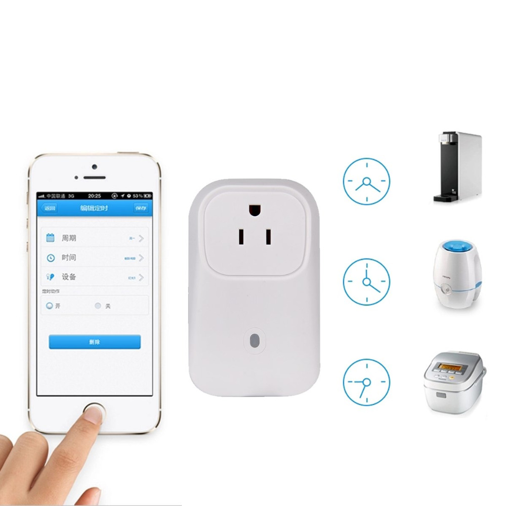 WiFi Remote Control Smart Power Timer Socket Switch for Android iPhone US EU UK Plug APP Control Power Socket Switch Outlet autoeye cctv camera power adapter dc12v 1a 2a 3a 5a ahd camera power supply eu us uk au plug