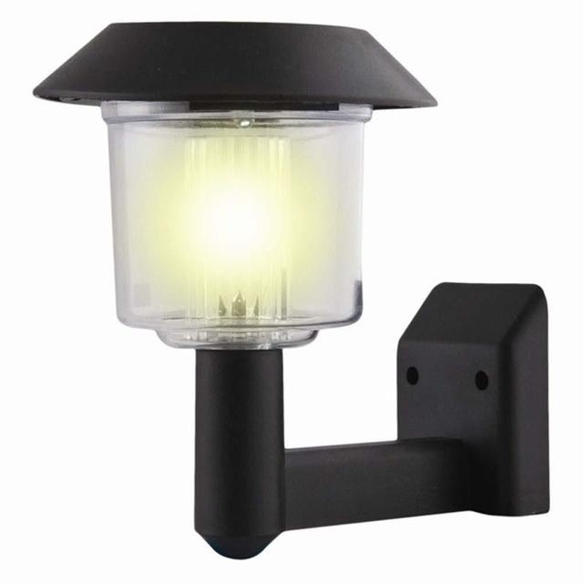 Solar powered wall light auto sensor fence led garden yard fence solar powered wall light auto sensor fence led garden yard fence lamp outdoor garden lamp posts aloadofball Gallery