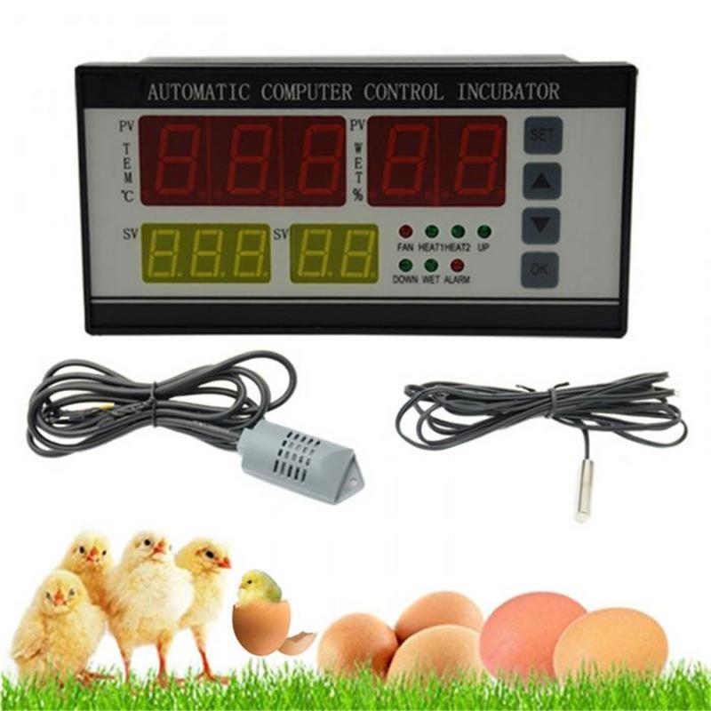 XM-18 Controlador Incubadora de Ovos Controlador Multifunções Sistema de Controle de Termostato Nascedouro Ovo Automático De Temperatura E Umidade