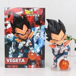 Image 4 - 11 см аниме Dragon Ball Fighter Z Majin Buu Cell ПВХ фигурка, игрушки, модель, ребенок Buu Freeza frieza Fina от