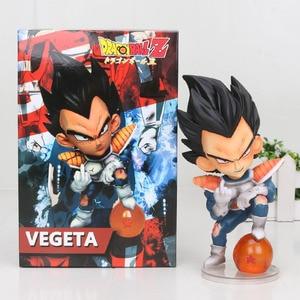 Image 4 - 11cm Anime Dragon Ball Fighter Z Majin Buu Cell PVC Action Figure Toys Model Kid Buu Freeza frieza Fina From