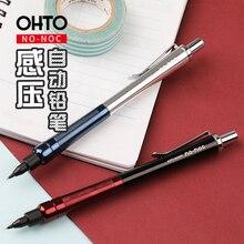 日本 OHTO NO NOC 感圧シャープペンシル 0.5 ミリメートルの金属シャープペンシル製図鉛筆 1 個